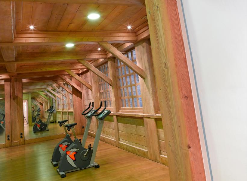 Location au ski Le Hameau Du Beaufortain - Les Saisies - Espace fitness