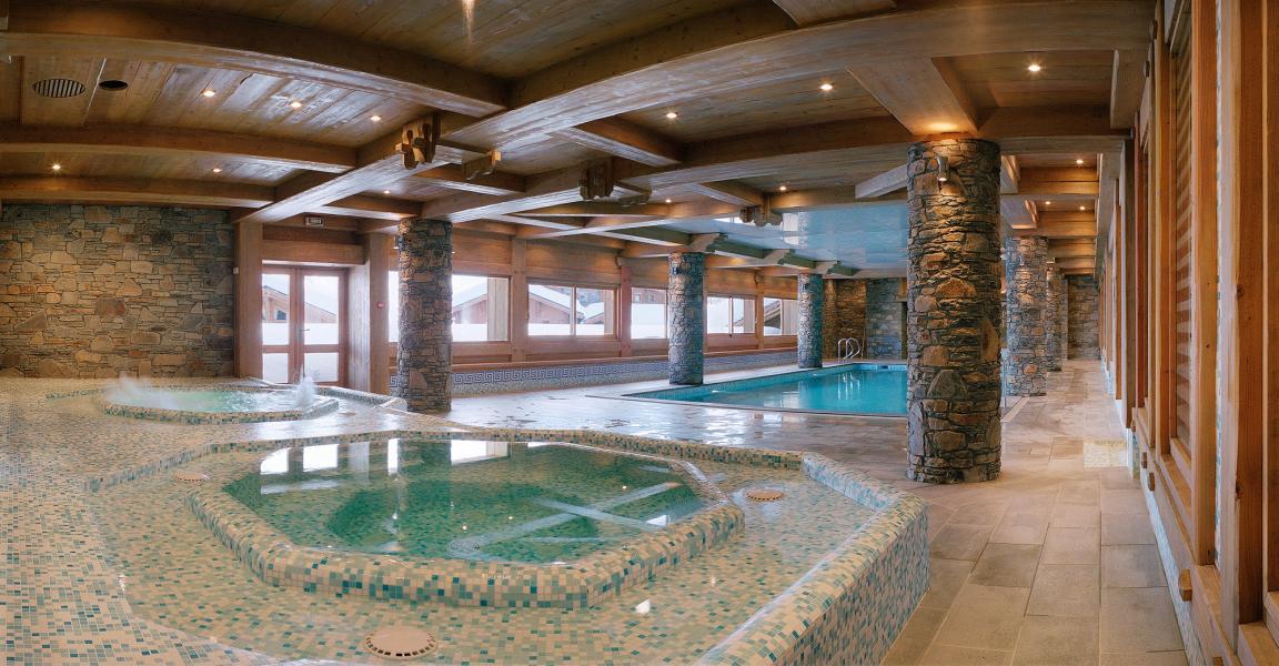 Location au ski Le Hameau Du Beaufortain - Les Saisies - Piscine