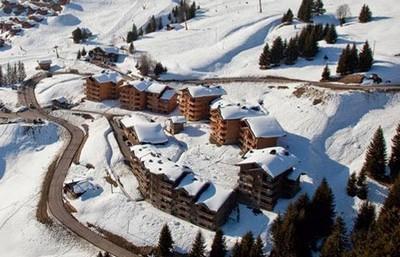 Vacaciones en montaña Les Alpages de Bisanne E - Les Saisies - Invierno