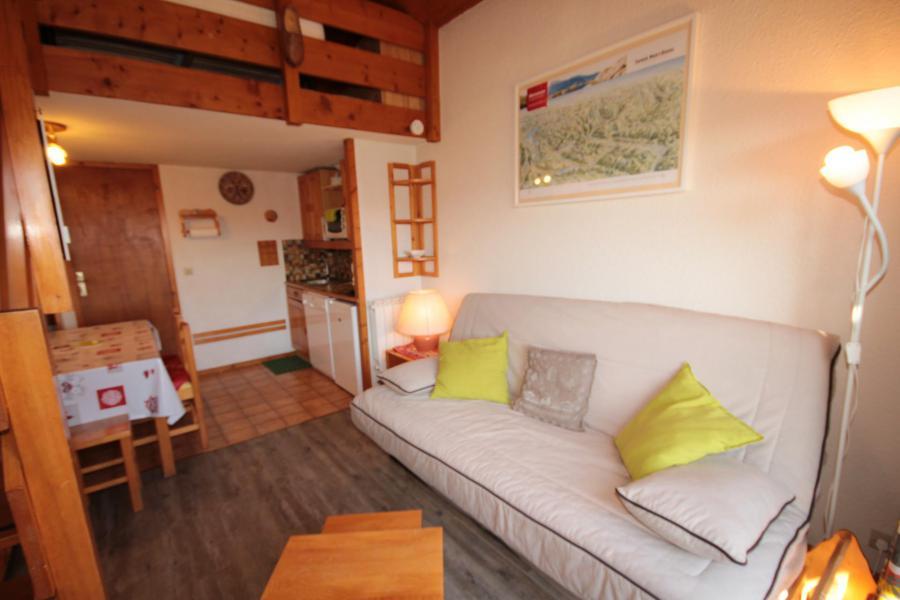 Location au ski Studio mezzanine 5 personnes (011) - Résidence Arvire - Les Saisies