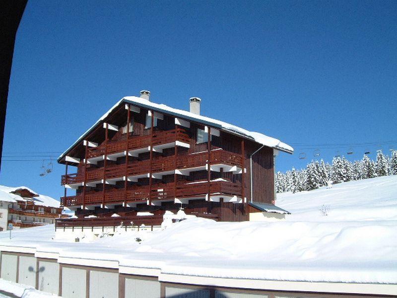 Каникулы в горах Résidence Grand Mont 4 - Les Saisies - зимой под открытым небом