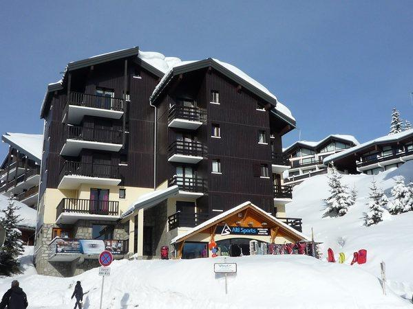 Rent in ski resort Résidence Isabella C - Les Saisies - Winter outside
