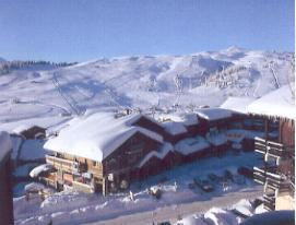 Vacaciones en montaña Résidence Isabelle B - Les Saisies - Invierno