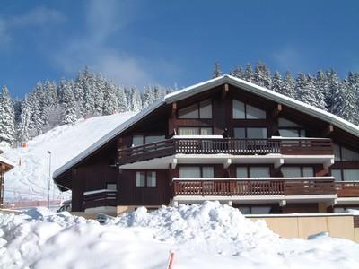 Vacaciones en montaña Résidence Karina - Les Saisies - Invierno