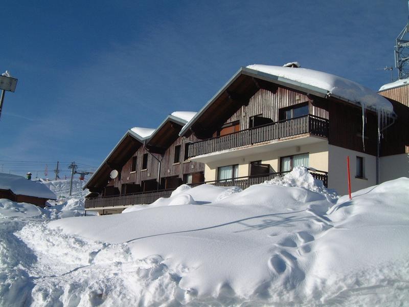 Vacaciones en montaña Résidence l'Ecrin - Les Saisies - Invierno