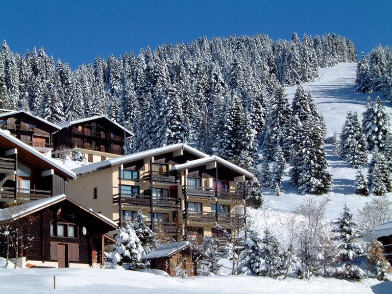 Location au ski Résidence l'Isba - Les Saisies - Extérieur hiver