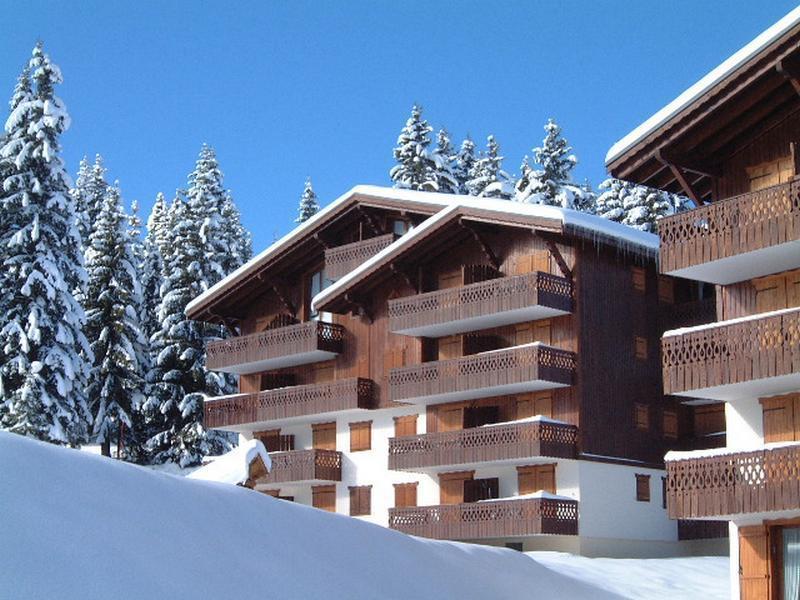 Каникулы в горах Résidence la Forêt des Rennes 1 C - Les Saisies - зимой под открытым небом