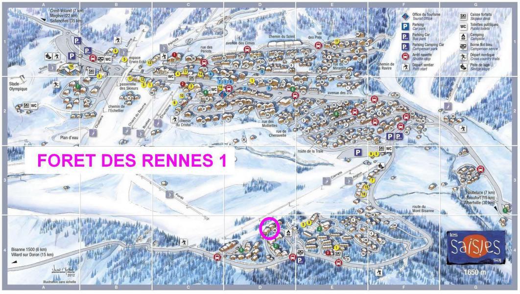 Ski Rental Holidays Les Saisies Residence La Foret Des Rennes 1 C