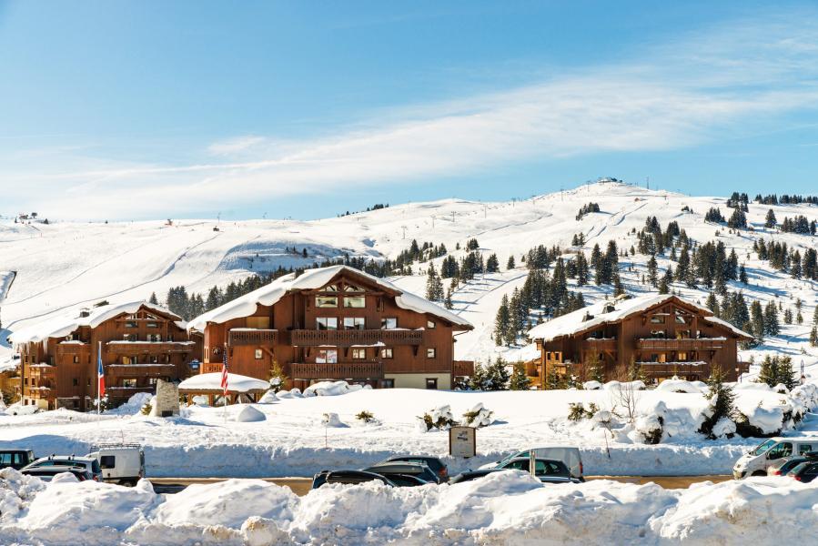 Location au ski Residence Lagrange Le Village Des Lapons - Les Saisies - Extérieur hiver