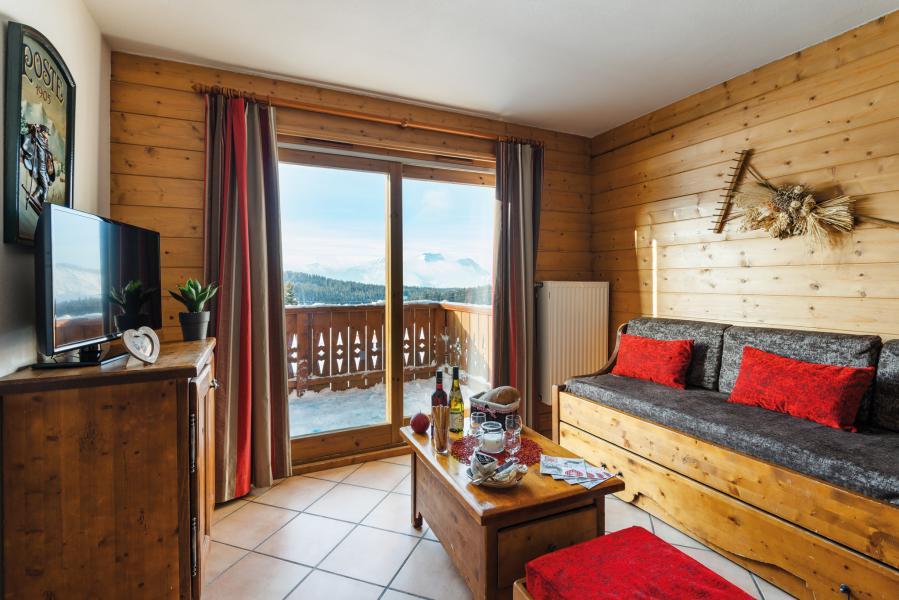Alquiler al esquí Résidence Lagrange le Village des Lapons - Les Saisies - Banqueta