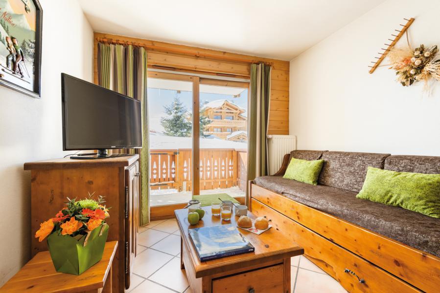 Location au ski Residence Lagrange Le Village Des Lapons - Les Saisies - Banquette-lit