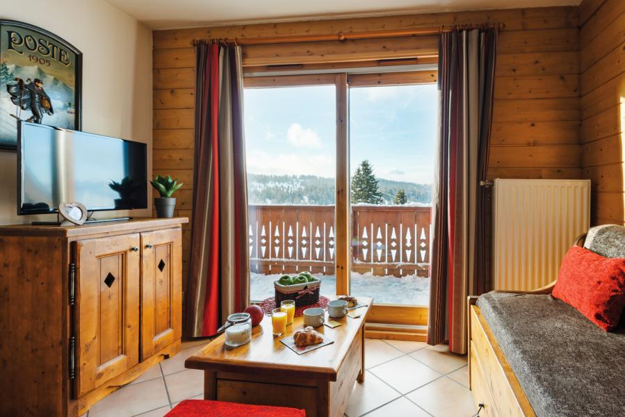 Location au ski Résidence Lagrange le Village des Lapons - Les Saisies - Coin séjour