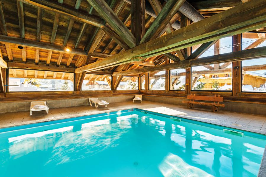 Location au ski Residence Lagrange Le Village Des Lapons - Les Saisies - Piscine