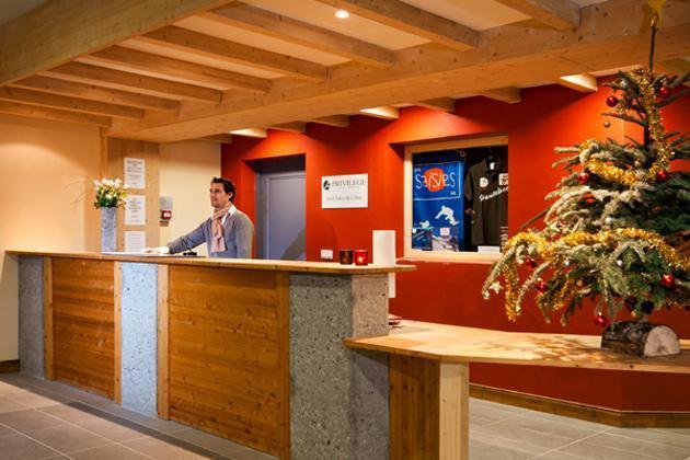 Location au ski Residence Lagrange Les Chalets Du Mont Blanc - Les Saisies - Réception