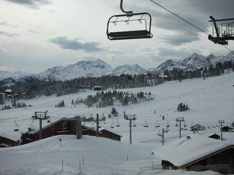 Каникулы в горах Résidence le Byblos - Les Saisies - зимой под открытым небом