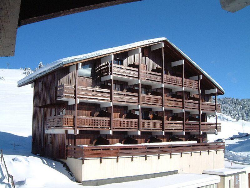 Vacaciones en montaña Résidence le Grand Mont 3 - Les Saisies - Invierno