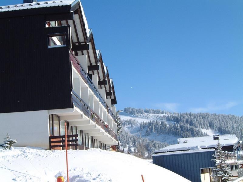Vacaciones en montaña Résidence le Plein Soleil A - Les Saisies - Invierno