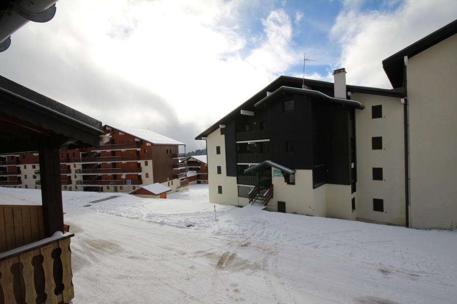 Vacaciones en montaña Apartamento 2 piezas cabina para 6 personas (035) - Résidence le Tavaillon - Les Saisies - Invierno
