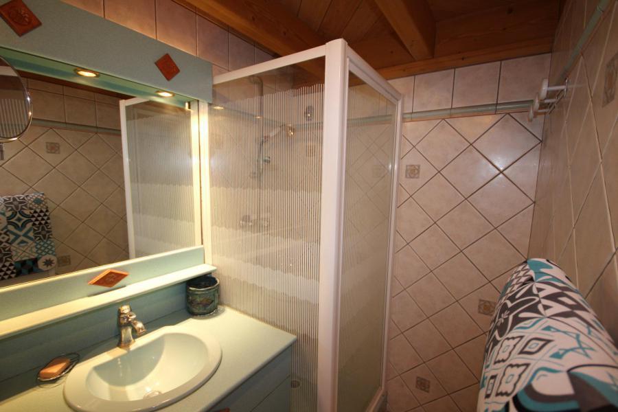Location au ski Appartement 2 pièces 5 personnes (025) - Résidence le Tavaillon - Les Saisies - Douche
