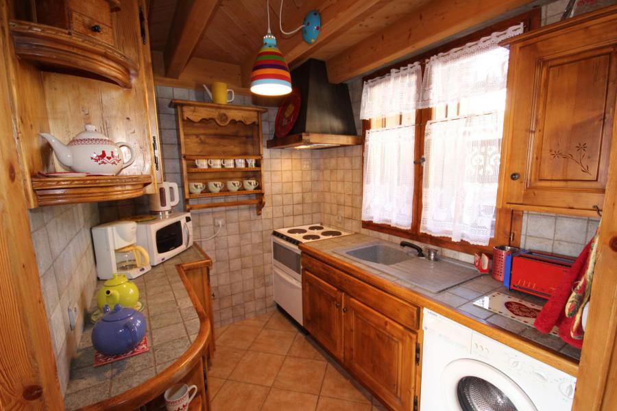 Location au ski Appartement 2 pièces 5 personnes (025) - Résidence le Tavaillon - Les Saisies - Kitchenette