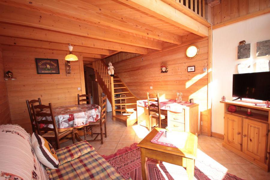 Location au ski Appartement 2 pièces 5 personnes (025) - Résidence le Tavaillon - Les Saisies - Séjour