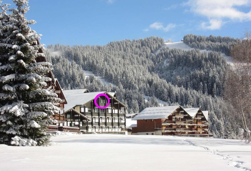 Vacaciones en montaña Apartamento 2 piezas cabina para 5 personas (533) - Résidence le Village 5 - Les Saisies - Invierno