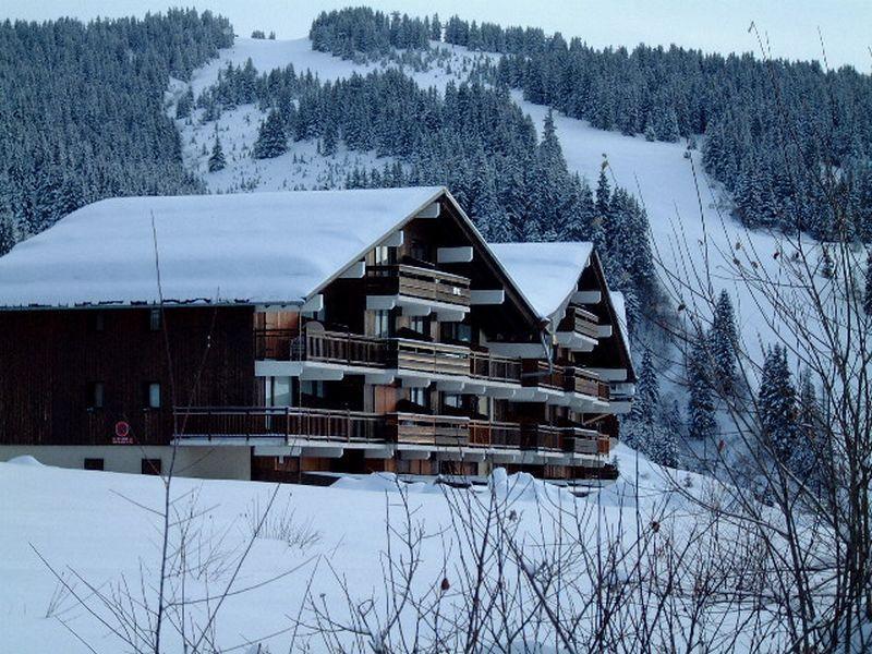 Vacaciones en montaña Résidence les Brimbelles - Les Saisies - Invierno