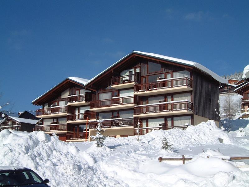 Vacaciones en montaña Résidence les Cyclamens - Les Saisies - Invierno