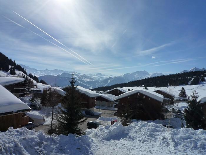 Vacaciones en montaña Estudio -espacio montaña- para 4 personas (017) - Résidence les Cyclamens - Les Saisies - Invierno