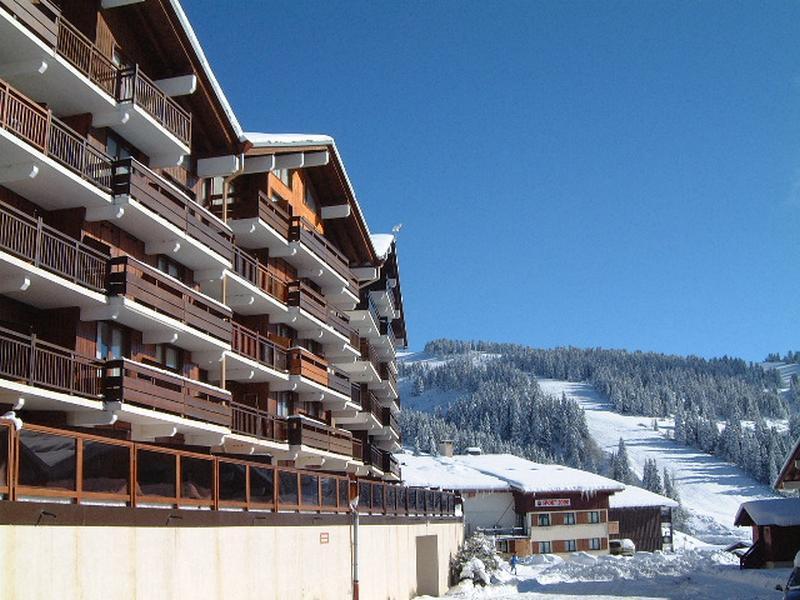 Alquiler al esquí Résidence les Fritillaires - Les Saisies - Invierno
