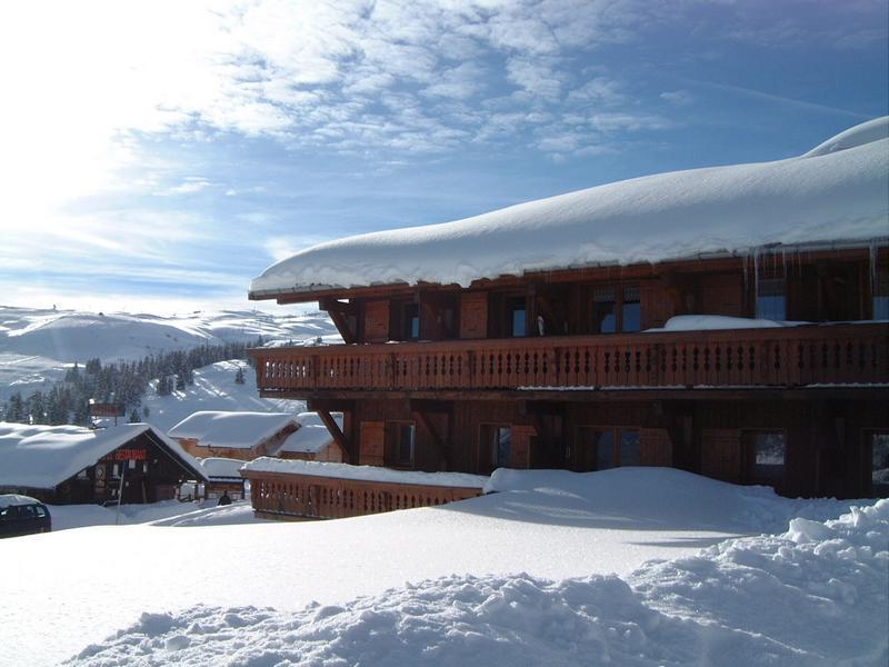 Каникулы в горах Résidence les Médailles d'Or - Les Saisies - зимой под открытым небом