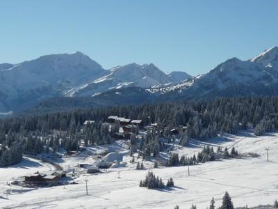 Каникулы в горах Résidence Lezette 1 - Les Saisies - зимой под открытым небом