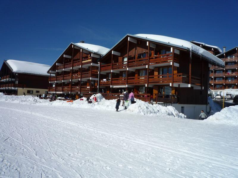 Vacaciones en montaña Résidence Mont Blanc C - Les Saisies - Invierno