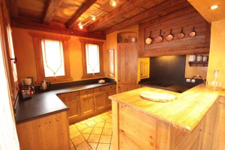Rent in ski resort 6 room chalet 14 people - Chalet Artiste - Les Saisies - Kitchen