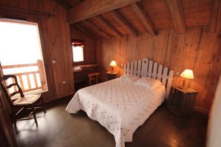 Rent in ski resort Chalet Artiste - Les Saisies - Bedroom