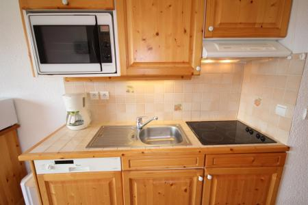 Rent in ski resort 2 room apartment cabin 6 people (609) - Chalet Cristal 6 - Les Saisies - Kitchenette