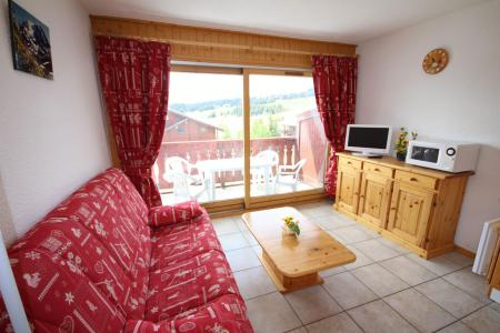 Rent in ski resort 2 room apartment cabin 6 people (609) - Chalet Cristal 6 - Les Saisies