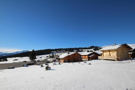 Rent in ski resort Studio sleeping corner 5 people (301) - Chalet du Lac 3 - Les Saisies - Winter outside