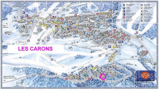Rent in ski resort Chalet les Carons - Les Saisies - Plan