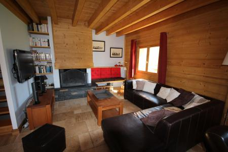 Rent in ski resort 7 room triplex chalet 14 people (CHACHO) - Chalet Pierres du Chozal - Les Saisies