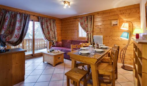 Rent in ski resort Le Hameau du Beaufortain - Les Saisies - Living room