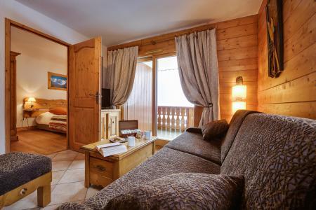 Location au ski Le Hameau du Beaufortain - Les Saisies - Séjour