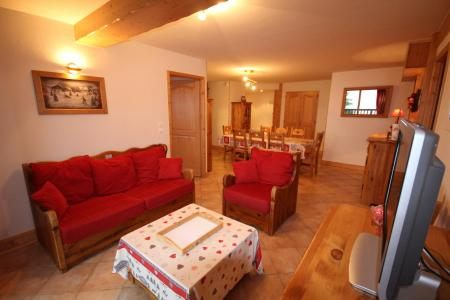Rent in ski resort 4 room apartment 8 people (ALPI05) - Les Alpages de Bisanne I - Les Saisies - Living room