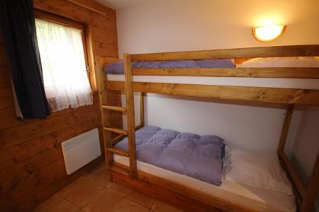 Rent in ski resort 3 room apartment 6 people (FERJ03) - Les Fermes du Beaufortain J - Les Saisies - Bunk beds