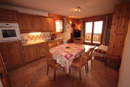 Rent in ski resort 3 room apartment 6 people (FERJ03) - Les Fermes du Beaufortain J - Les Saisies - Kitchen
