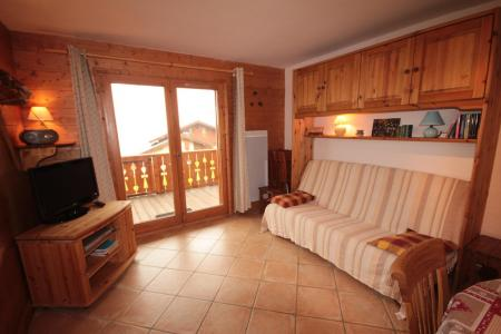 Rent in ski resort 3 room apartment 6 people (FERJ03) - Les Fermes du Beaufortain J - Les Saisies - Living room