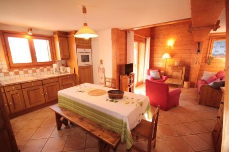 Rent in ski resort 4 room mezzanine apartment 8 people (FERJ07) - Les Fermes du Beaufortain J - Les Saisies - Table
