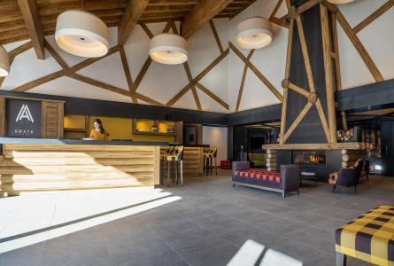 Rent in ski resort Résidence Amaya - Les Saisies - Reception
