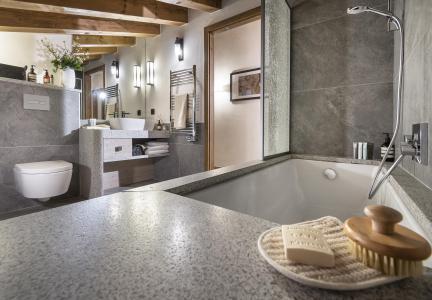 Rent in ski resort Résidence Amaya - Les Saisies - Bathroom