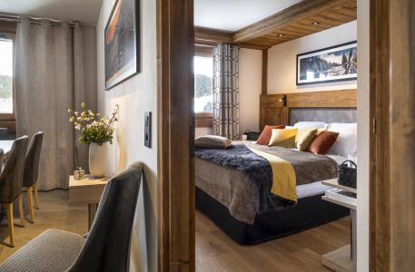 Rent in ski resort Résidence Amaya - Les Saisies - Bedroom